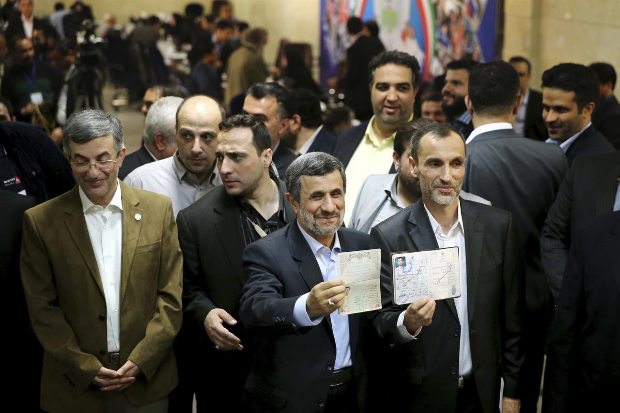Hard-line ex-leader Ahmadinejad stuns Iran with election bid ...