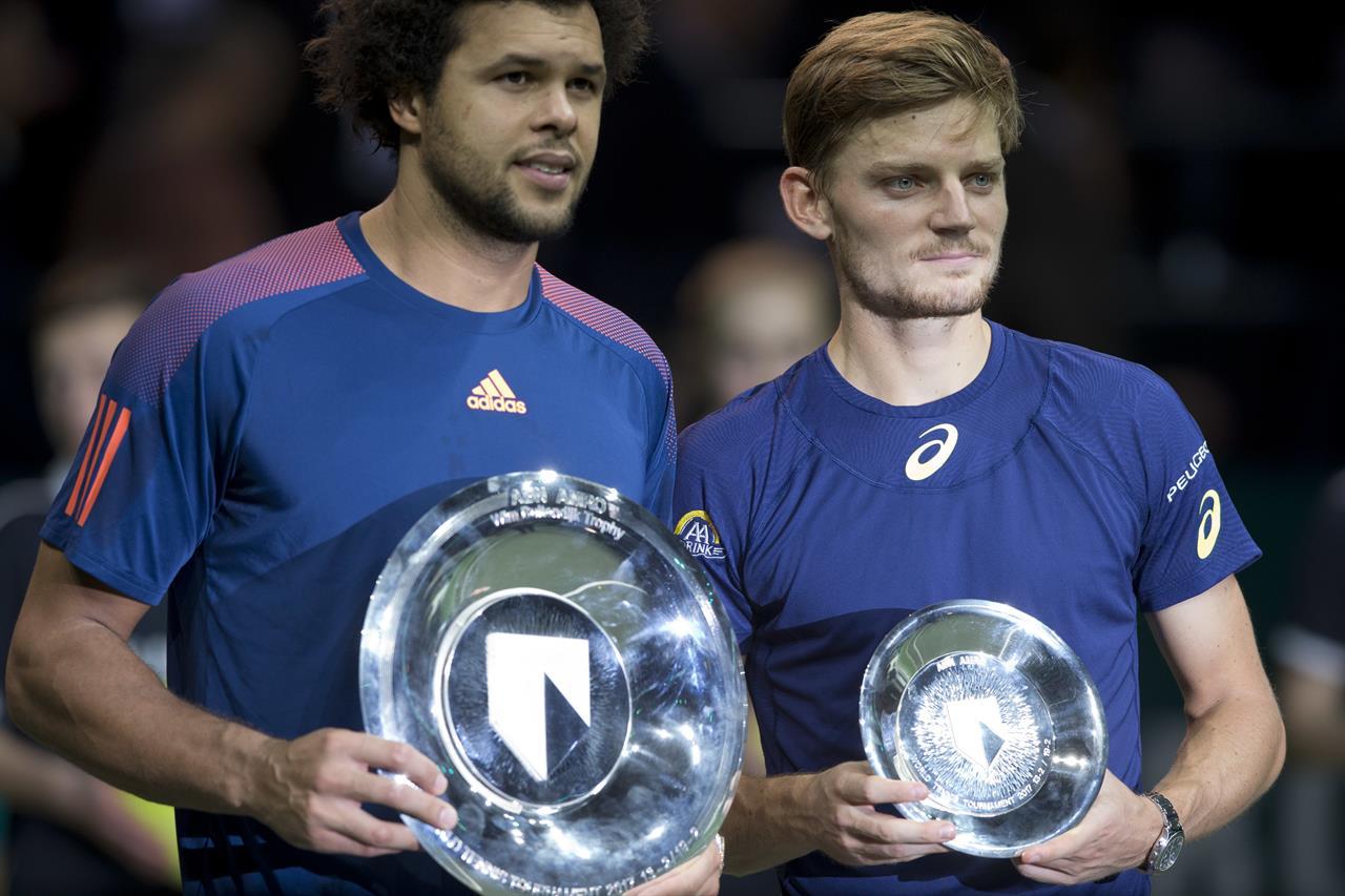 Tsonga se lleva en tres sets el título de Rotterdam ante Goffin
