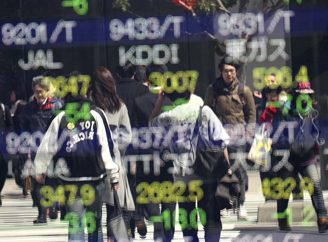 Asian shares up as Wall Street steadies, with eye on US vote