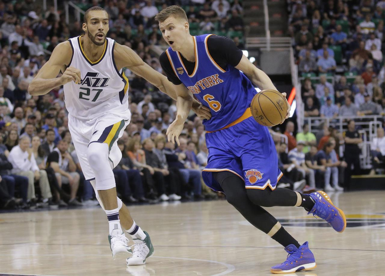 gobert scores career high 35 jazz beat knicks 108 101 new york ny gobert scores career high 35 jazz beat knicks 108 101
