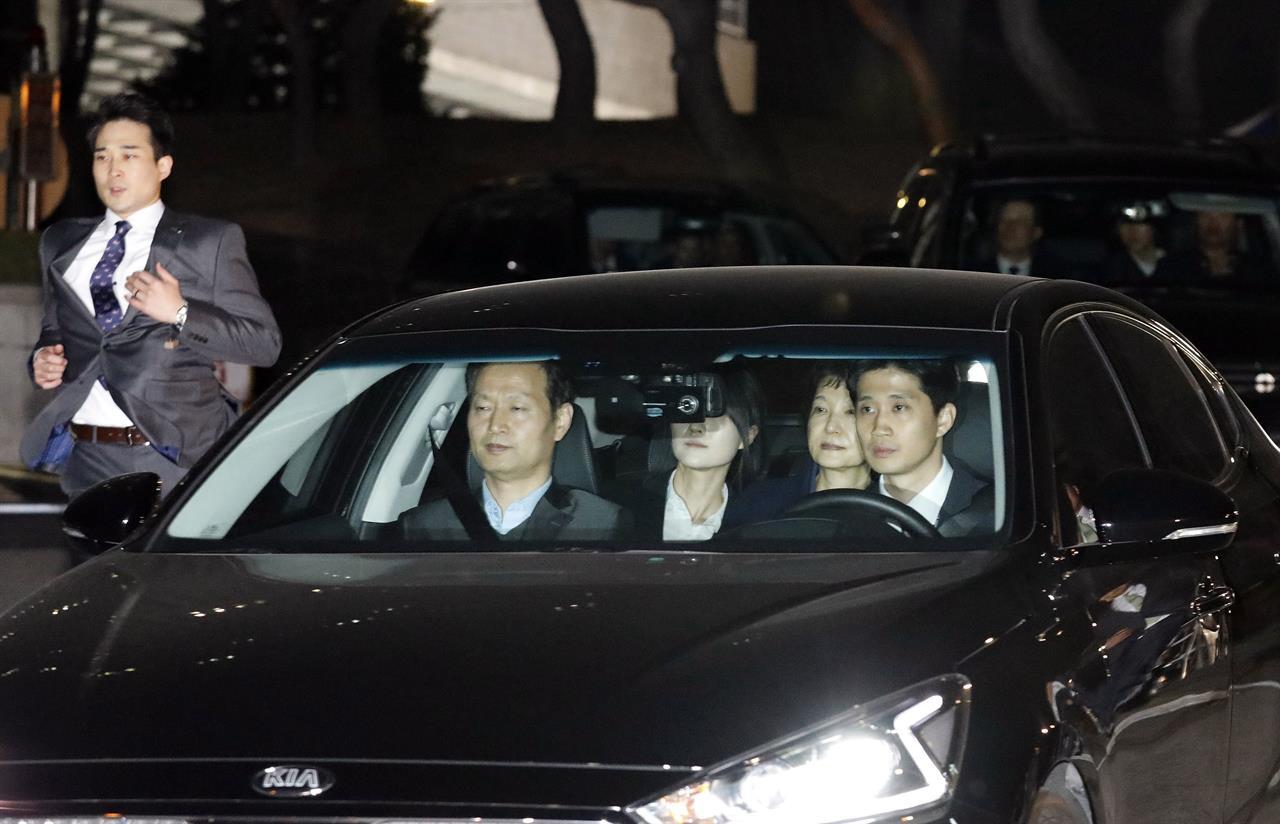 S. Korean ex-president jailed over corruption allegations