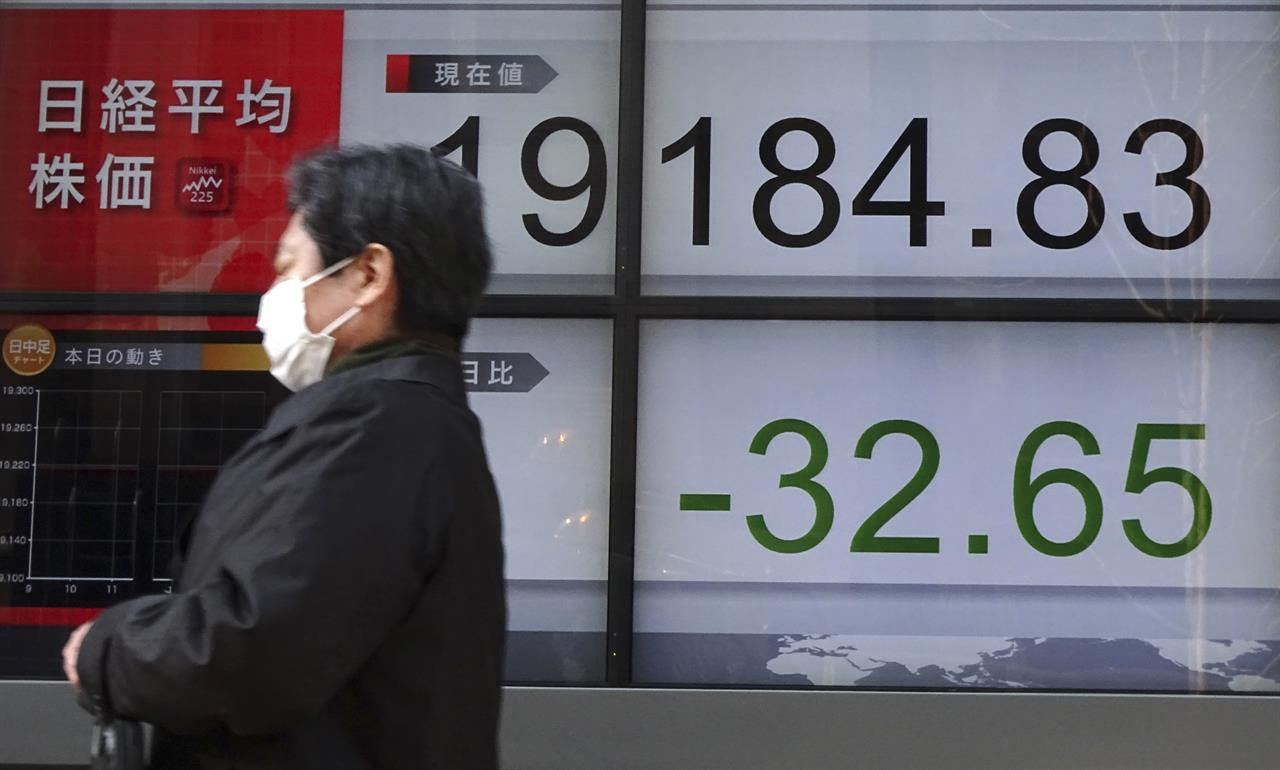 Asia shares fall on China liquidity fear; Europe edges up