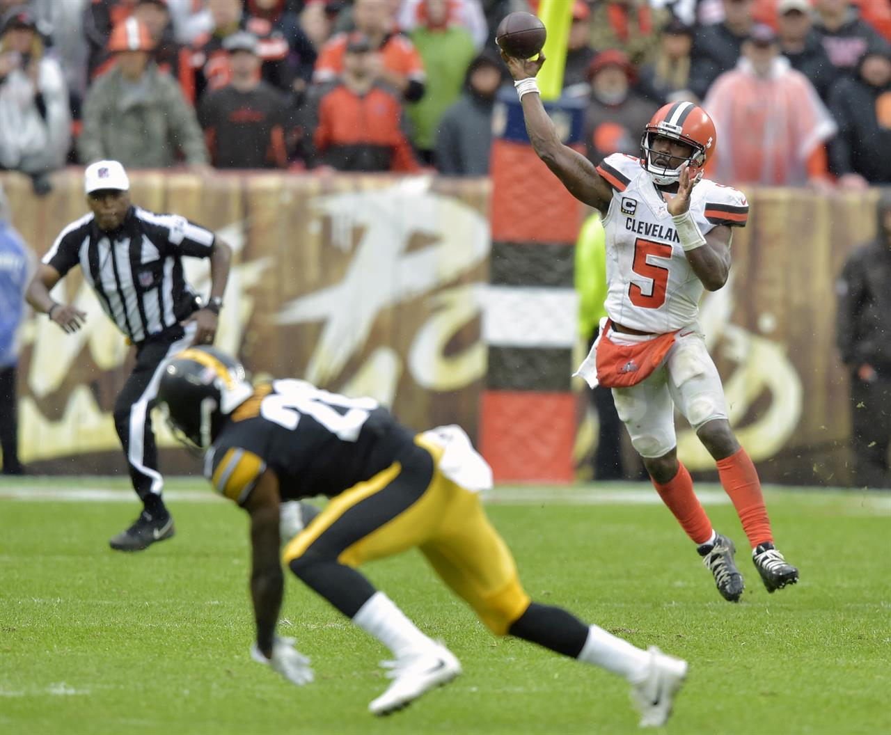 Browns Dont Lose Tie Steelers Sloppy Game