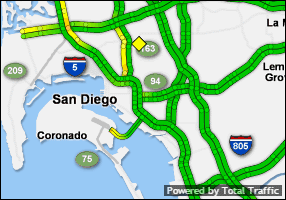 Click for San Diego Traffic