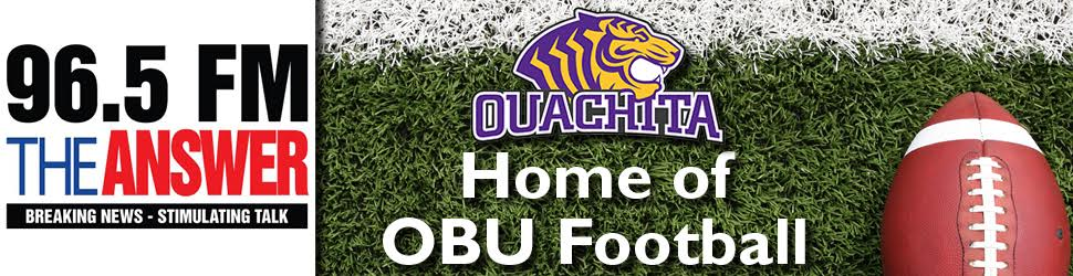 96.5 FM The Answer is your home for OBU Tigers Football!