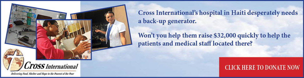 Help Cross International get a generator for their Haiti hospital.