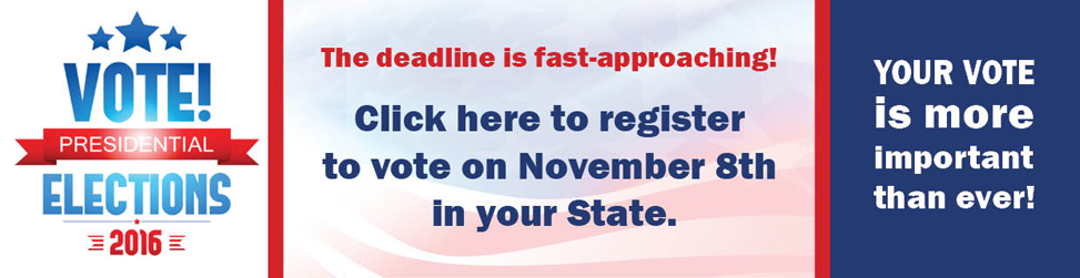 Make sure you register AND vote in November!