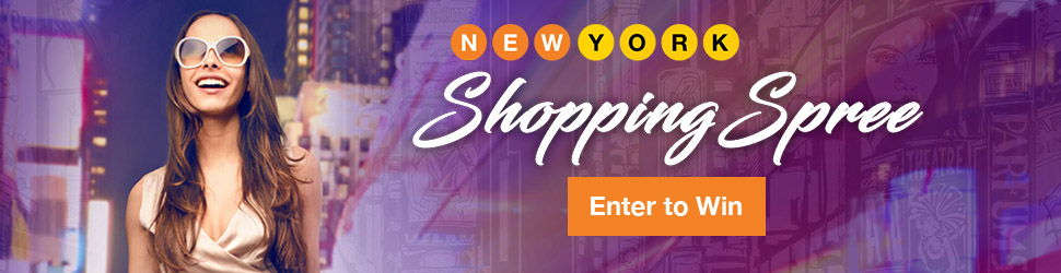 Win a $4,500 shopping spree in NYC!