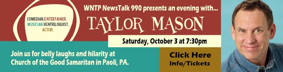 Spend an evening of hilarity with Taylor Mason!