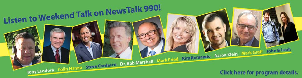 Listen to Weekend Talk on NewsTalk 990!