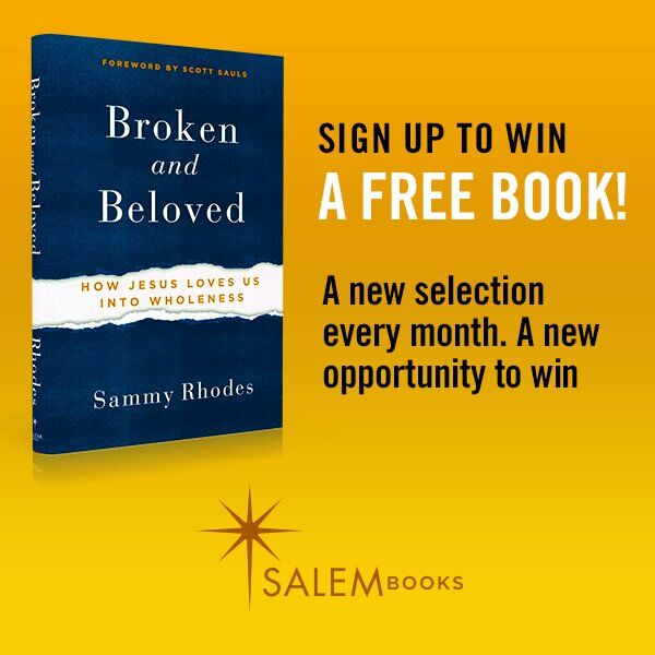 Win a Signed Copy of Broken and Beloved
