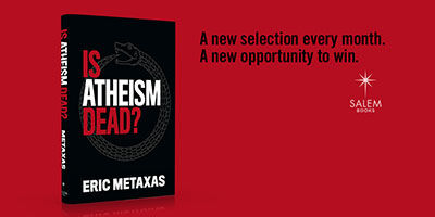 Win a Signed Copy of Is Atheism Dead?