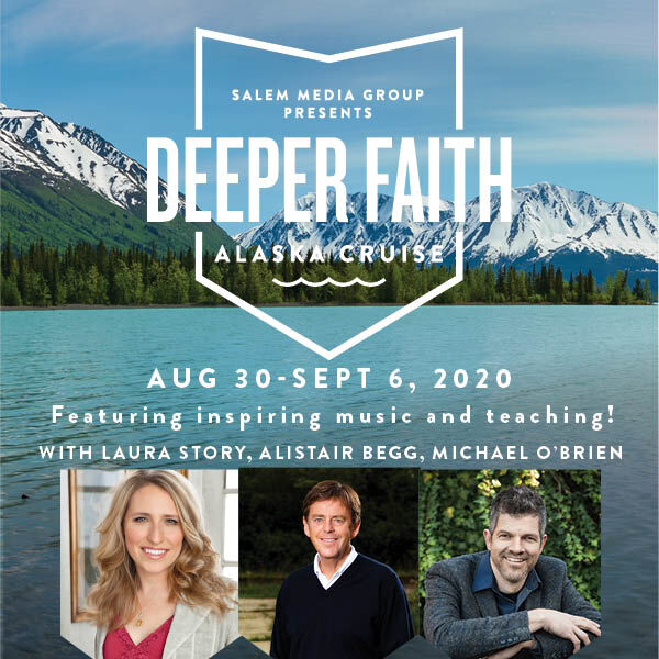 Deeper Faith Alaska Cruise, August 30 - September 6, 2020