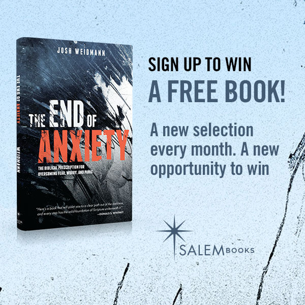 Win a Signed Copy of The End of Anxiety