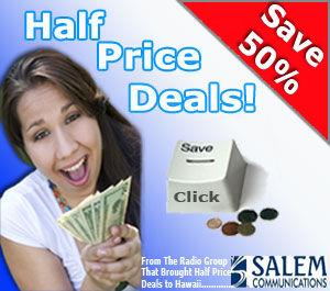 Sunny 95 half price deals