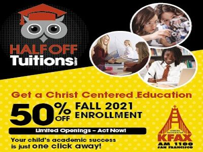 Half Off Tuitions-How to get 50% off a Christ Centered Education