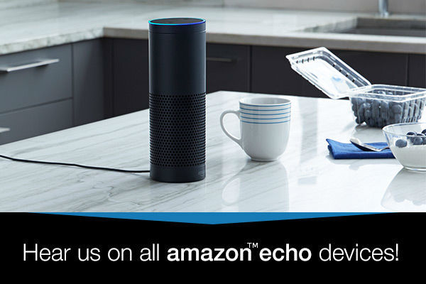 Listen to Rejoice 96 9 via your Amazon™ Alexa Device