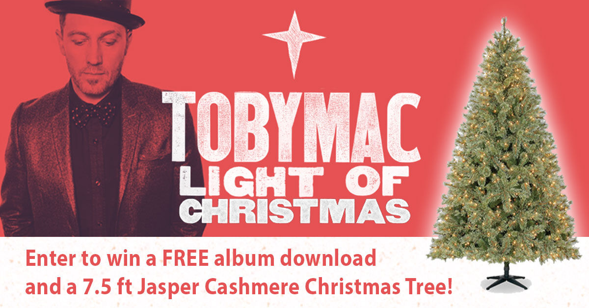 Best 28 light of christmas tobymac owlcityofficial for 104 1 the fish