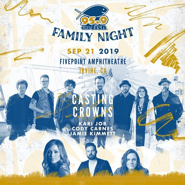 Win Tickets to Fish Family Night!