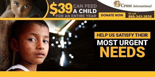 Cross International Feed A Child For a Year for $39.00