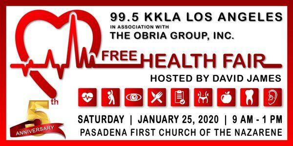 99.5 KKLA Free Health Fair