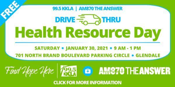 99.5 KKLA Health Resources Day7 - Saturday, January 30, 9 am - 1 pm