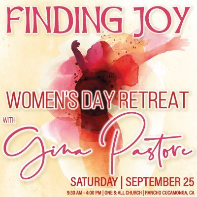 Finding Joy - Women's Day Retreat with Gina Pastore