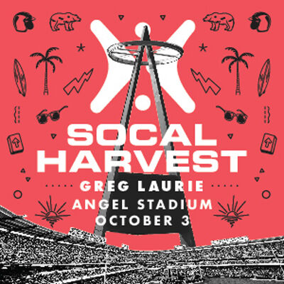 Harvest Crusade 2021 with Greg Laurie, Sunday, October 3 starting at 7:00 pm