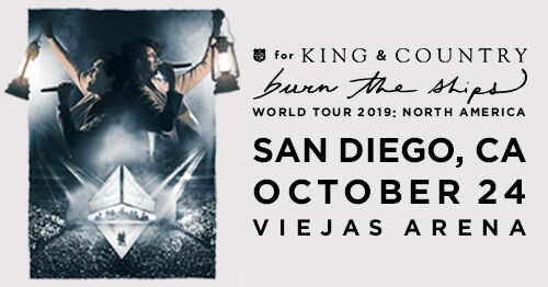 for KING & COUNTRY at Viejas Arena - San Diego, CA