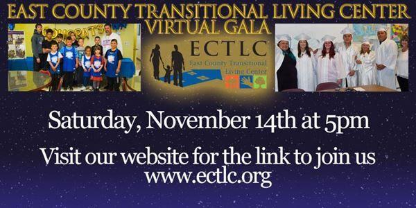East County Transitional Living Virtual Gala