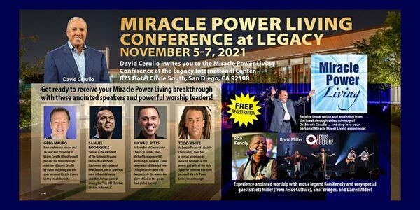 Miracle Power Living Conference at Legacy