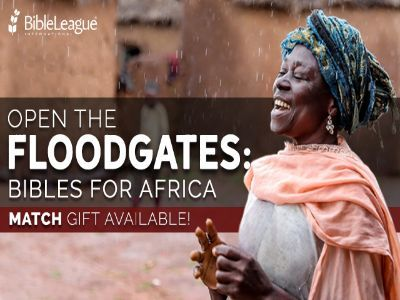 Open the Floodgates: Bibles for Africa