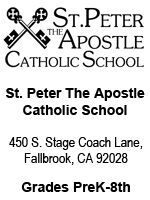 St. Peter The Apostle Catholic School
