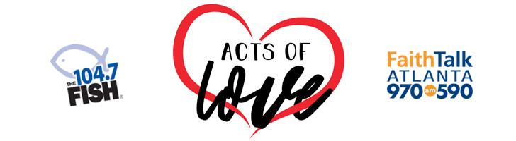 104.7 Christmas Wish 2020 Acts of Love | 104.7 The Fish   Atlanta, GA
