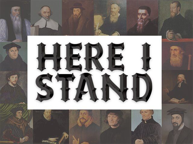 Here I Stand