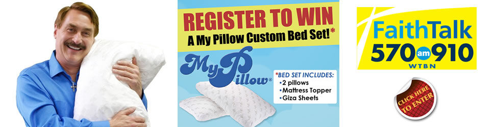 My Pillow Bed Set Sweepstakes - FaithTalk - Tampa