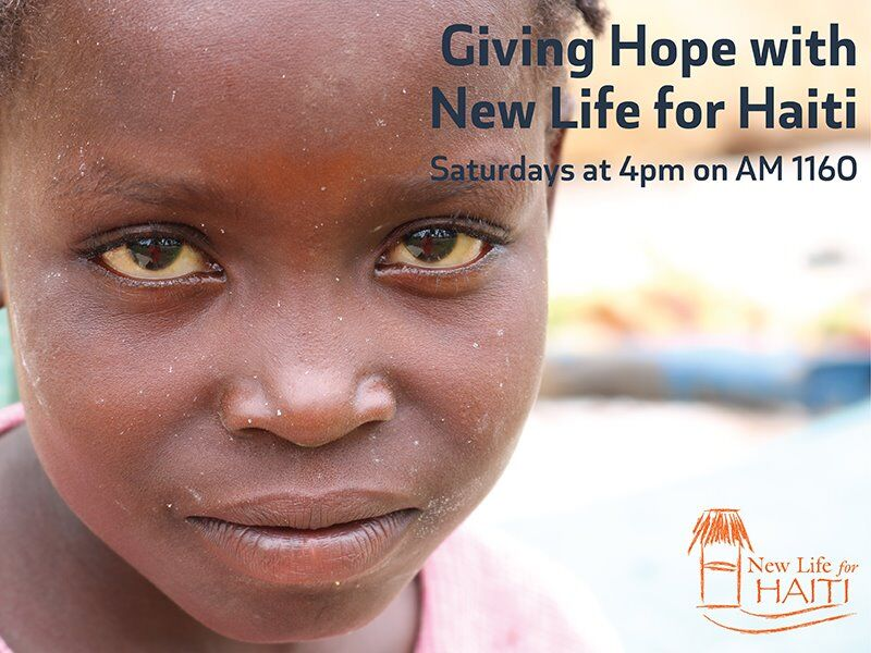 Giving Hope with New Life for Haiti