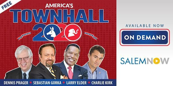 Watch America's Townhall 2020 - On Demand