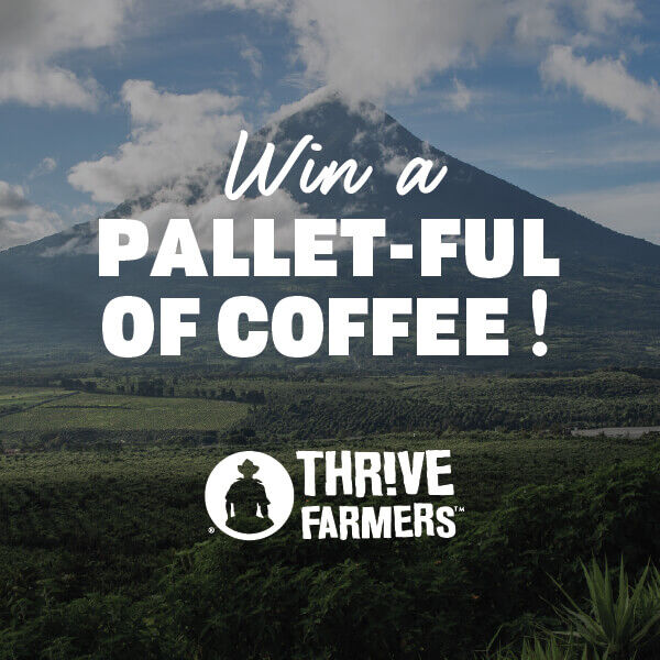 Win A Pallet-Ful Of Coffee!