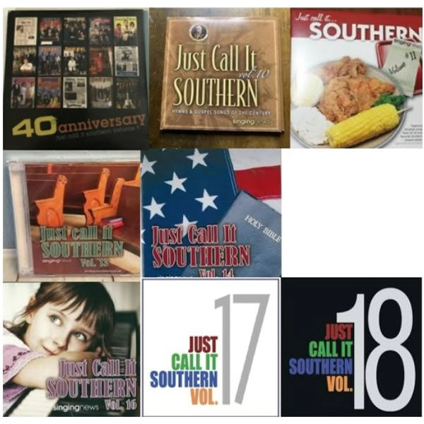 Get Your 8 Southern Gospel CDs for Free - just pay shipping
