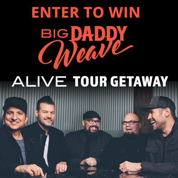 Win A Big Daddy Weave Getaway Experience!