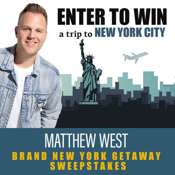 Win A Trip To See Matthew West!