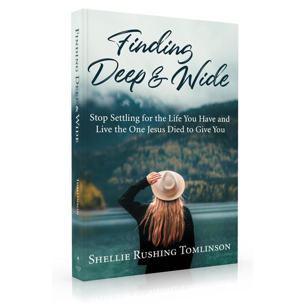 """Win An Autographed copy of """"Finding Deep and Wide""""!"""