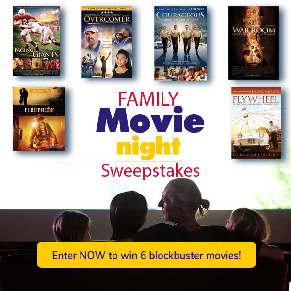 Win a Family Movie DVD 6-pack!