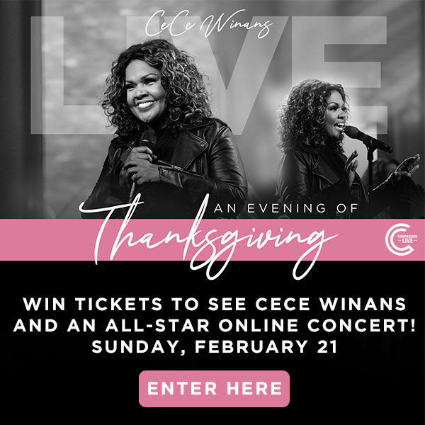 Win CeCe Winans tickets and Believe For It cds!