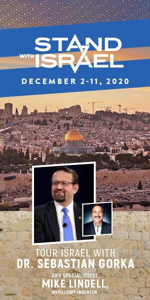 "Salem Media Group's ""Stand With Israel 2020"" tour with Dr. Sebastian Gorka"