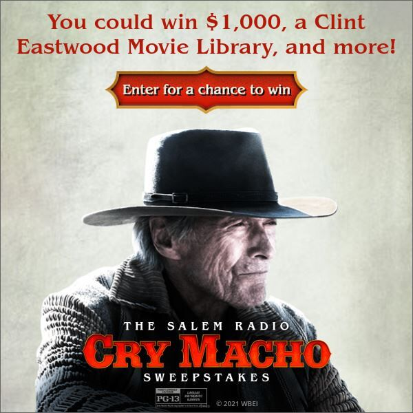 Enter to win $1,000 & Clint Eastwood 40-Film Collection!
