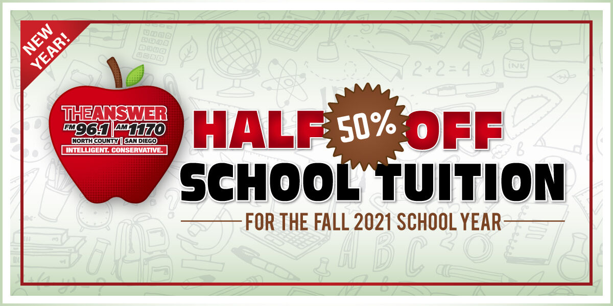 The Answer's Half-Off Tuition