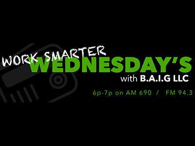 Work Smarter Wednesday's