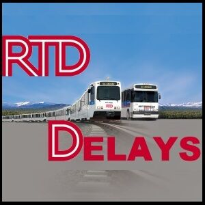 RTD-Bus and Rail Delays